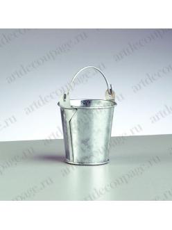 Миниатюрное ведро, оцинкованное, 6х5,8 см, EFCO