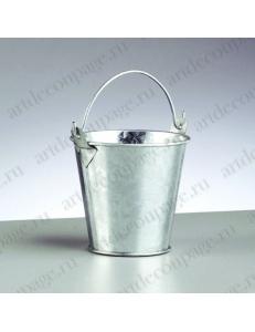 Миниатюрное ведро, оцинкованное, 8хh7,5 см, EFCO (Германия)