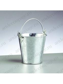 Маленькое ведро, оцинкованное, , 8хh7,5 см, EFCO (Германия)