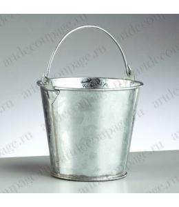 Миниатюрное ведро, оцинкованное, 11хh9 см, EFCO (Германия)