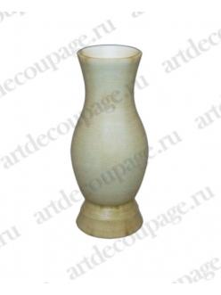 Заготовка ваза маленькая деревянная, 4,2х9,3 см, WOODBOX