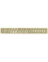 Цифры для часов римские, деревянные, 20 мм, WOODBOX