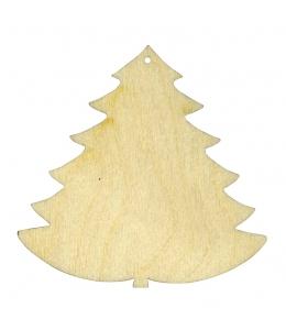 Заготовка фигурка Новогодняя ёлка 5 см