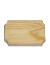 Заготовка панно деревянное с фаской, 11х19 см, сосна, Stamperia (Италия)