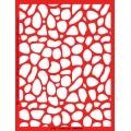 Трафарет объемный Пятна, 15х18 см, толщина 0,5 мм