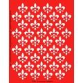Трафарет объемный Геральдические лилии, 15х18 см, толщина 0,5 мм