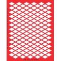 Трафарет объемный Ромбы, 15х18 см, толщина 0,5 мм