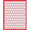 Трафарет объемный Черепица, 15х18 см, толщина 0,5 мм