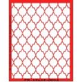 Трафарет объемный Восточная решетка, 15х18 см, толщина 0,5 мм