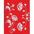 Трафарет объемный Цветы, 15х18 см, толщина 0,5 мм