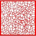 Трафарет объемный Мозаика, 19х19 см, толщина 0,5 мм