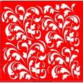 Трафарет объемный Листья, 19х19 см, толщина 0,5 мм