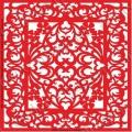 Трафарет объемный Орнамент 160, 19х19 см, толщина 0,5 мм