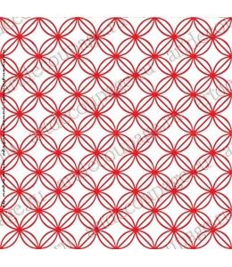 Трафарет объемный Орнамент геометрический, 19х19 см, толщина 0,5 мм