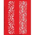 Трафарет объемный Бордюры с узорами, 21х26 см, толщина 0,5 мм