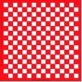Трафарет объемный Шахматная клетка 24х24см, толщина 0,5 мм