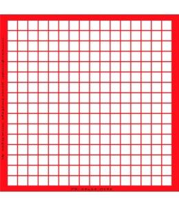 Трафарет объемный Клетка 24х24см, толщина 0,5 мм