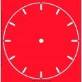 Трафарет объемный Циферблат 21, 29х29см, толщина 0,5 мм