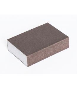 Абразивная губка для шлифовки №120, 7,8х9,8х2,5 см