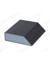 Абразивная губка для шлифования с острым углом №80, 9х9,8х2,5 см