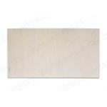 Заготовка дощечка накладка прямоугольная, фанера, 9х17,5 см, Россия