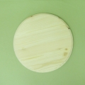 Заготовка панно Круг с фаской, 20 см, сосна, Россия
