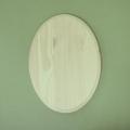 Заготовка панно Овал большой с фаской, 20х27,5 см, сосна, Россия