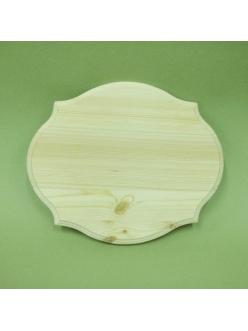 Заготовка панно Винтаж, 24х29 см, сосна, Россия