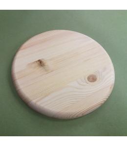 Заготовка панно круглое 15 см, сосны, круглый край, Россия