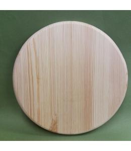 Заготовка панно круглое 25 см, сосны, круглый край, Россия