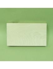 Заготовка планшет деревянный прямоугольный, 20х35х4 см, Россия