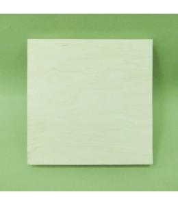 Заготовка планшет деревянный прямоугольный, 35х35х4,3 см, Россия