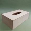 Заготовка салфетница деревянная прямоугольная, 25х14х8 см, Россия