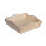 Заготовка конфетница квадратная, фанера, 15х15хh5 см, Россия