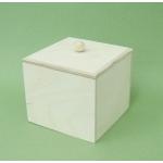 Заготовка коробка малая, фанера, 12х12х10,5 см, Россия