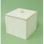Заготовка коробка большая, фанера, 14х14х13 см, Россия