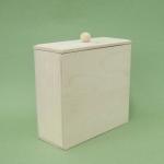 Заготовка коробка узкая, 16х15х7 см, Россия