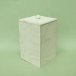 Заготовка короб малый, фанера, 12х12х18 см, Россия