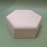 Заготовка шкатулка шестигранная 12,5хh4,5 см, Россия