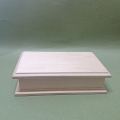 Заготовка купюрница деревянная с фаской, 19х11х5 см, Россия