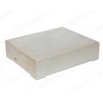 Заготовка шкатулка деревянная, 6 отделений, 21х26х7 см, Россия