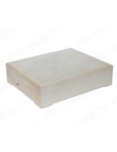 Заготовка шкатулка деревянная, 6 отделений, 26х21х7 см, Россия