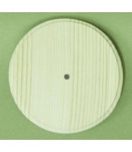 Заготовка часы Круглые с фаской, сосна, 35 см, Россия