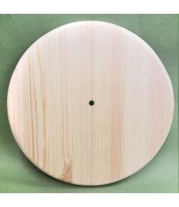 Заготовка часы Круглые с круглым краем, сосна, 35 см, Россия