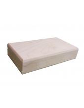 Заготовка купюрница деревянная с магнитным замком, 18х10х3,7 см, Россия