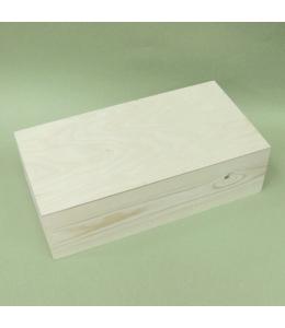 Заготовка купюрница деревянная, сосна 21х12х5 см, Россия