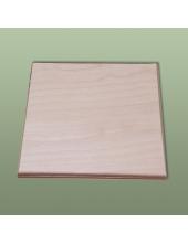 Заготовка плитка квадратная 10х10 см, фанера
