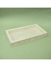 Заготовка планшет деревянный прямоугольный 20х30х4 см, Россия
