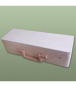Заготовка чемоданчик винный, 35х11,5х9.5 см, Россия