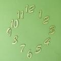 Цифры для часов деревянные арабские LAZ-50-119, 50 мм, фанера, Россия